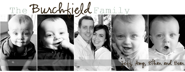 The Burchfield Family Blog Design