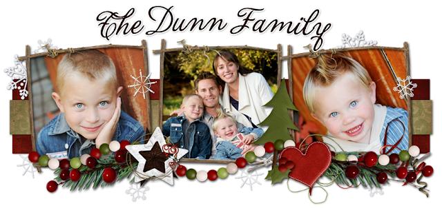 The Dunn Family Blog Design