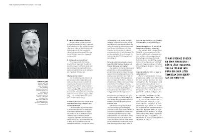 Arkitektur: Gert Wingårdh om svensk arkitektur