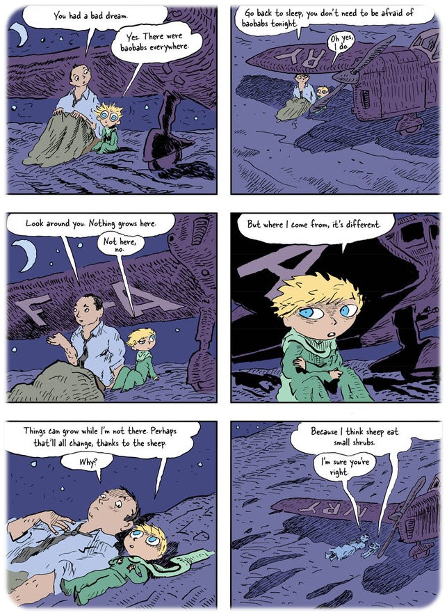 thesis of the little prince