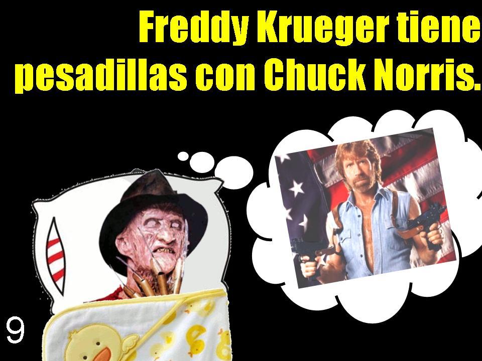 Freddy Krueger has nig...