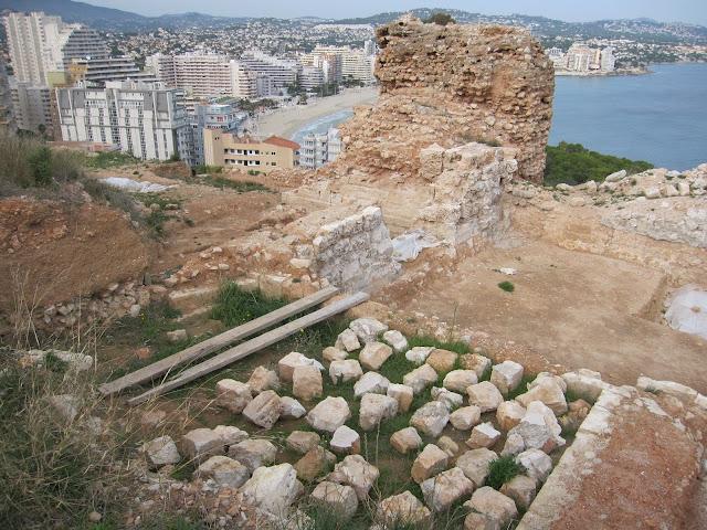Restes de la pobla medieval d'Ifac