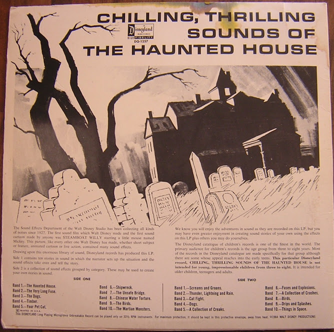 chilling , thrilling sounds of the haunted house
