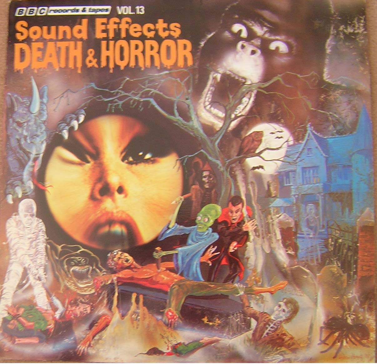 DEATH & HORROR sound effects vol.13