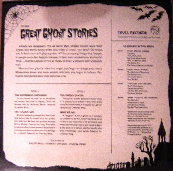 great ghost stories troll records