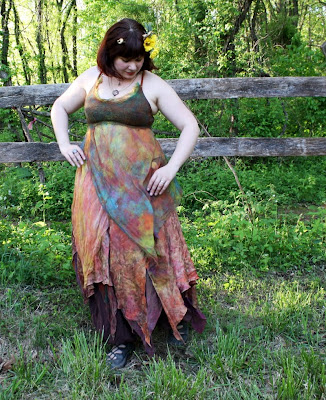 fairie fashion, altered proportions