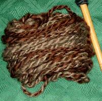 My brown yarn