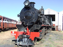 the old steam Ghan