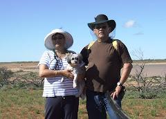 us at lake Edna, SA