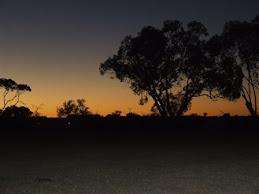 Agnes creek sunset