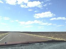 the baren landscape to Coober pedy