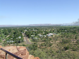 Kununurra from the lookout