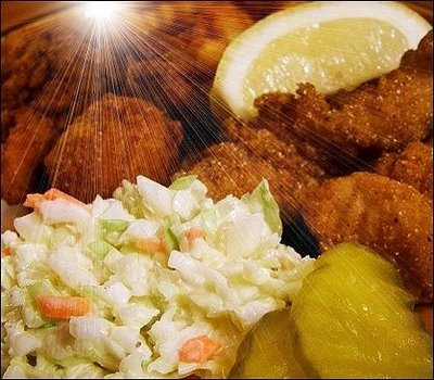 Mary kunz goldman blogs daily while writing leonard for Wegmans fish fry