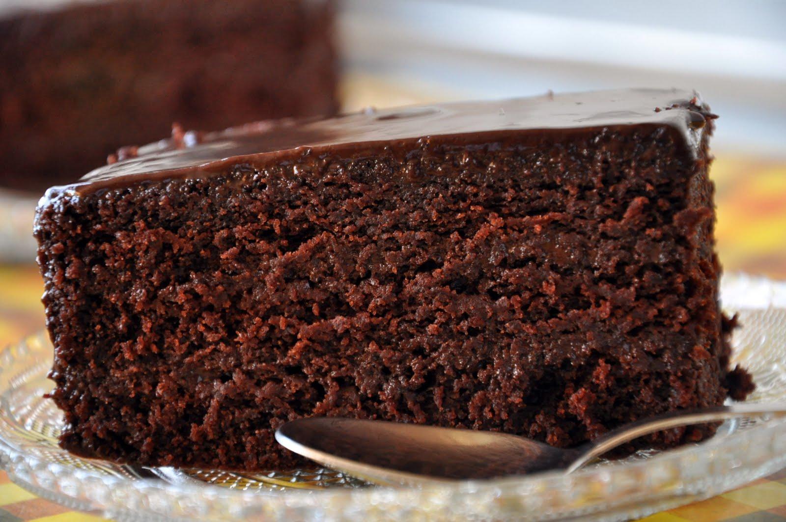 Moist Triple Layer Chocolate Cake Recipe