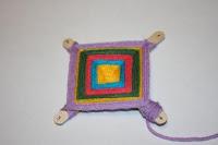 плетение мандал ojo de dios