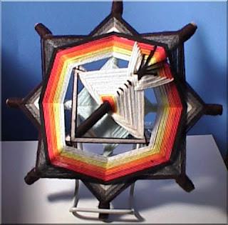 Плетение индейских мандал