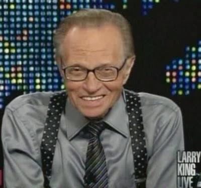 Le célèbre animateur de télévision Américain <b>Larry King</b> âgé de 77 ans, <b>...</b> - larryKing