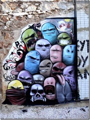 foto de graffiti en muro