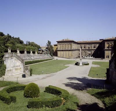 Palacio Pitti jardines