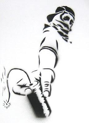 stencil petardo