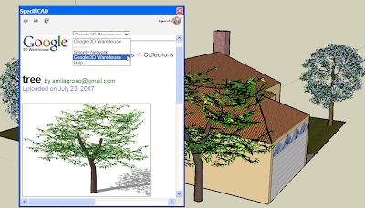 Utiliser SpecifiCAD avec Google SketchUp 6