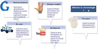 10eme anniversaire de google