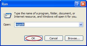 Removing regsvr.exe startup