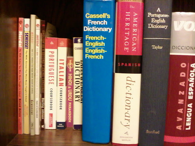 Here are pictures of most of the non-English grammars and dictionaries I ...