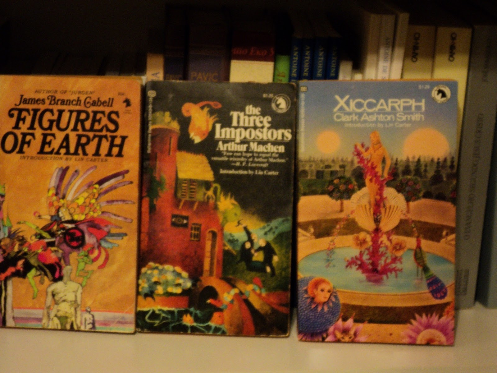 Update on the Ballantine Adult Fantasy Series books I now own: Part I