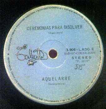 Aquelarre - 1973 - Violencia en el parque / Ceremonias para disolver (simple) Ceremonia+para+disolver