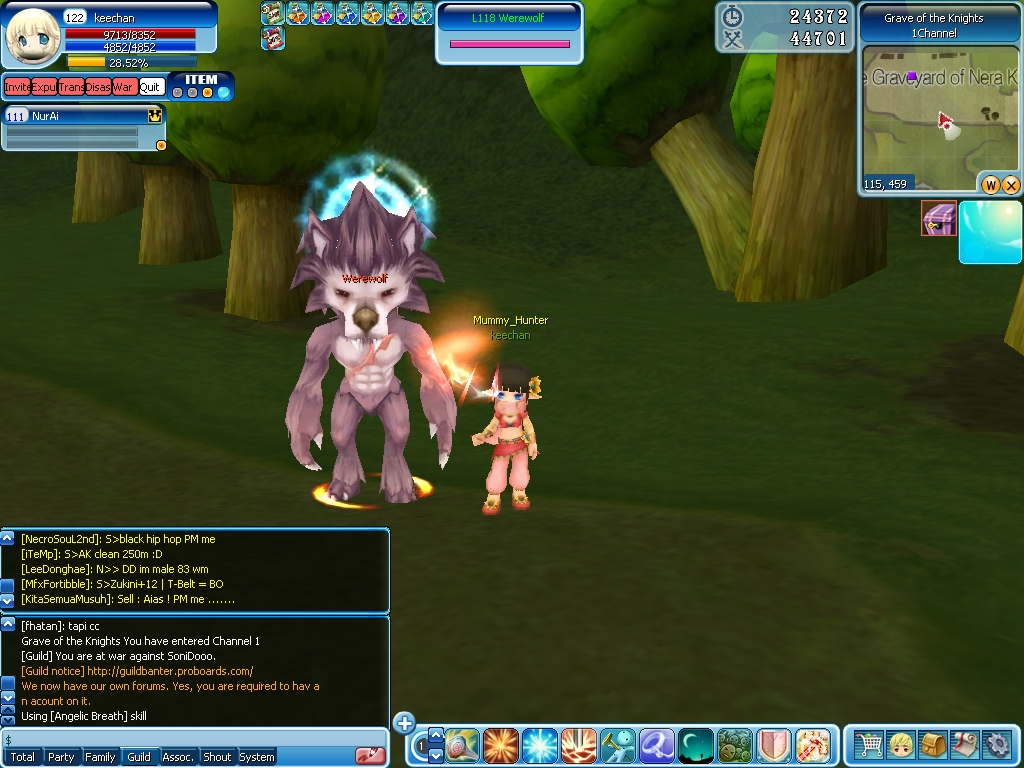 Role Playing Games Celestia Luna Online
