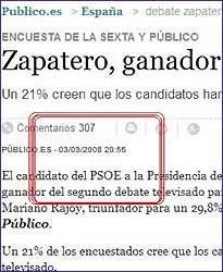 Pillada encuesta Publico