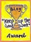 Keep Up The Good Blogg Award