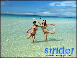 Gambar Awek Bikini at Malaysia Beach