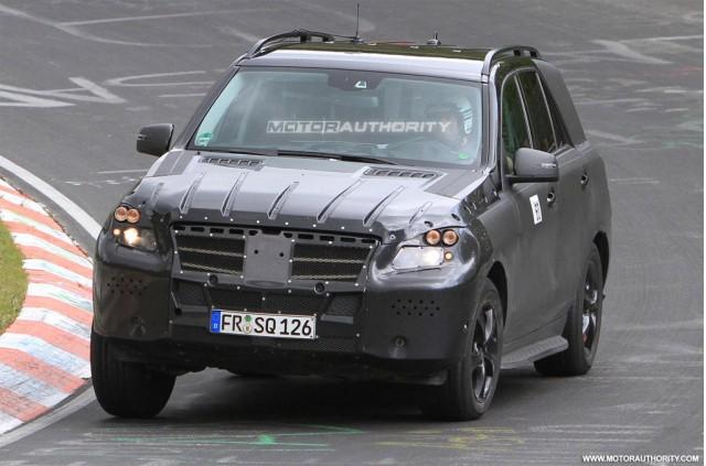 new mercedes benz ml 2012. Mercedes-Benz ML-Class 2012