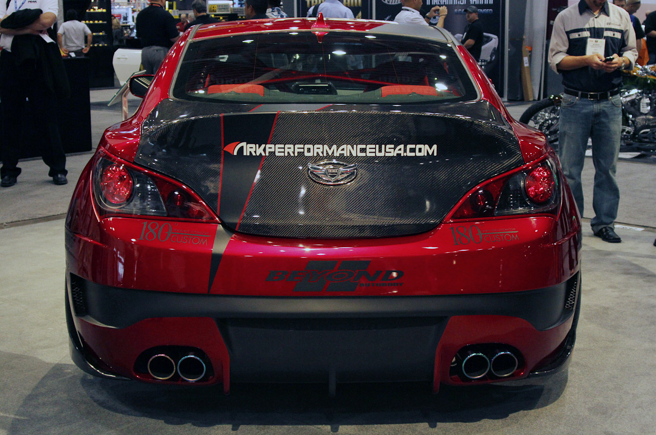 hyundai genesis coupe por ark performance autom viles. Black Bedroom Furniture Sets. Home Design Ideas