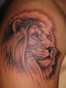 Tatuaje de León . DISEÑOS DE TATUAJES leon