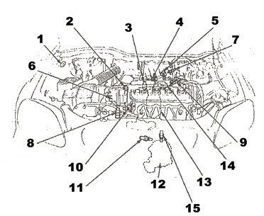 Electric Steering Gear Box Diagram