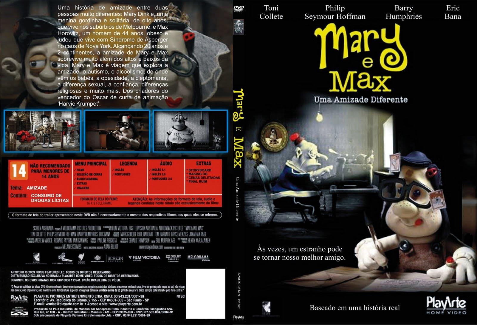 Mary e Max – Uma Amizade Diferente Mary+e+Max