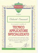 Corsi specializzazione 2002 -2004- 2006