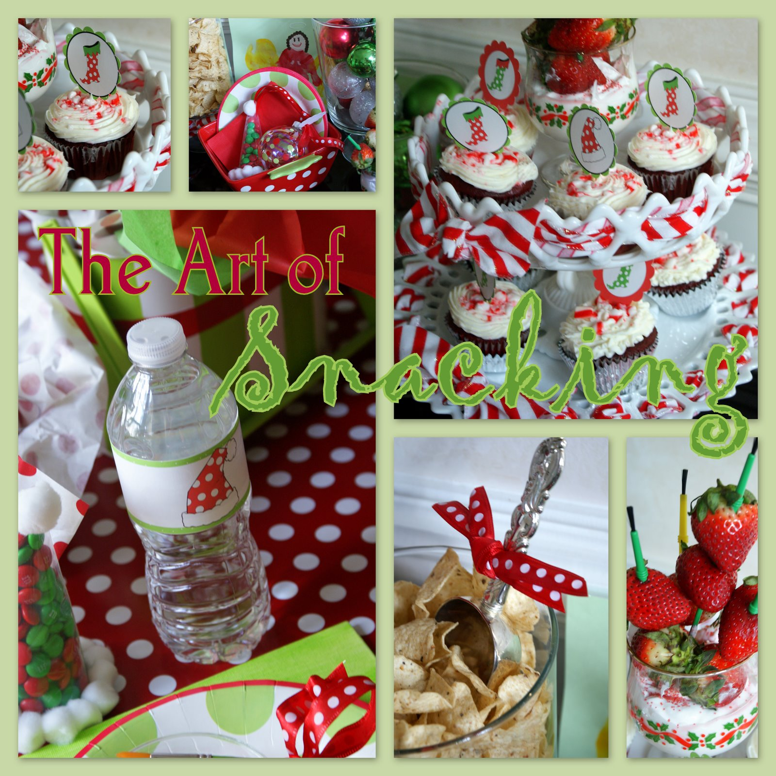 Christmas School Party Ideas Part - 18: A Little Loveliness: Christmas P-art-y