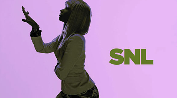 NICKI MINAJ – She's doing the creep! SNL was never so good,
