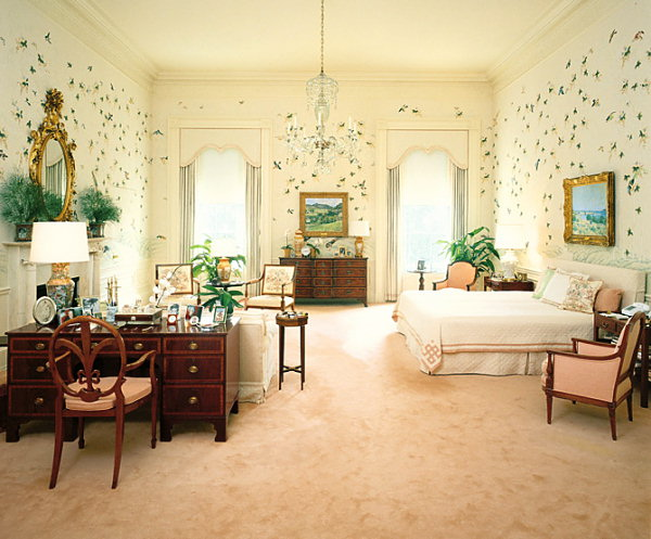 Inside the White House Master Bedroom