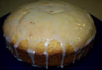 Delicious Lemon Cake with Lemon Glaze
