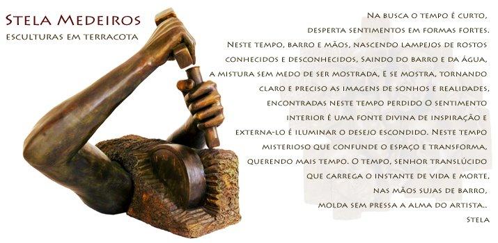 Stela Medeiros Escultura em Terracota