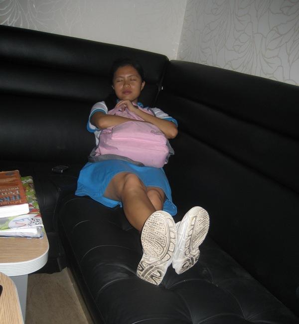 sleeping beauty???not really..haha..