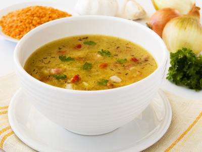 фасолевый суп bean soup куриный суп chicken soup ...