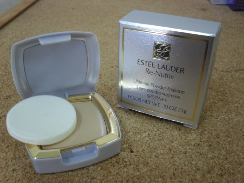 glamsberry estee lauder renutriv ultimate powder makeup spf14. Black Bedroom Furniture Sets. Home Design Ideas