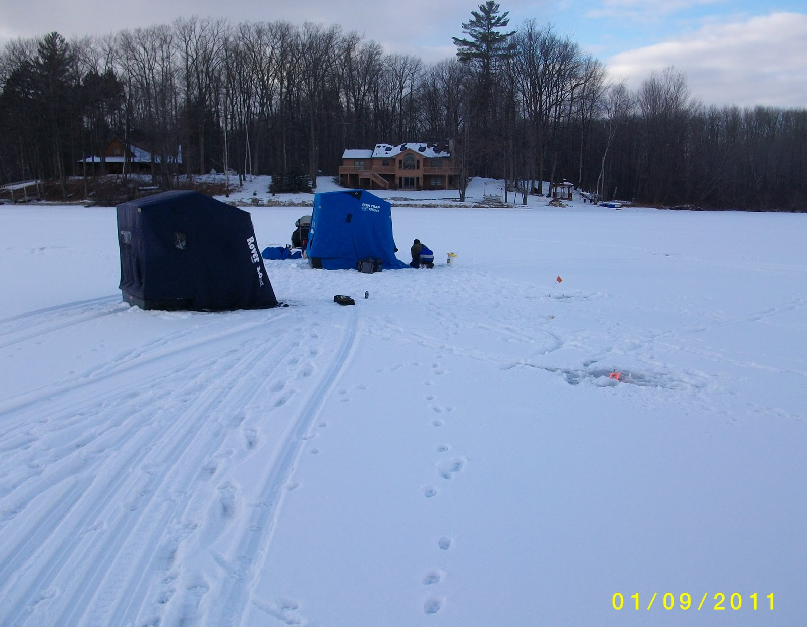 Houghton lake walleye report pratt lake fishing report 1 9 11 for Enid lake fishing report