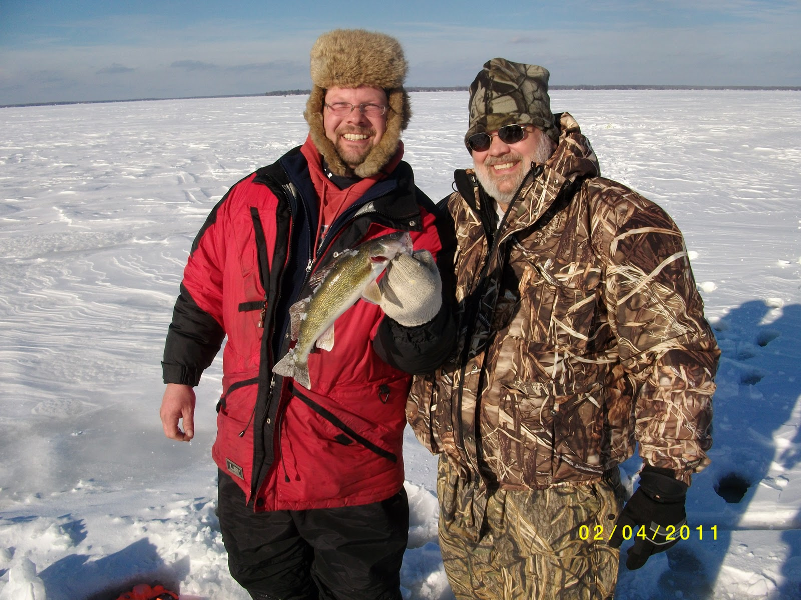 Houghton lake walleye report weekend fishing report 2 3 2 5 for Enid lake fishing report